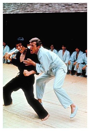 Сцена в школе боевых искусств