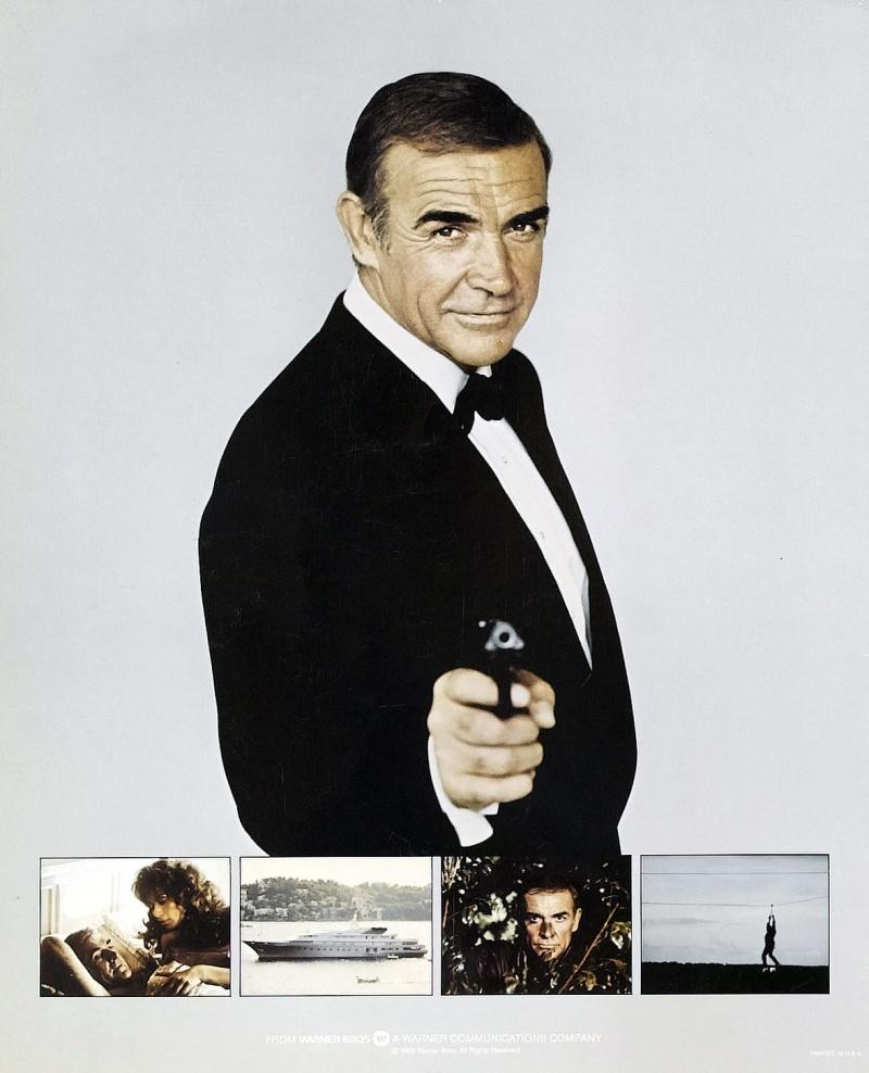 Плакат с Шоном Коннери