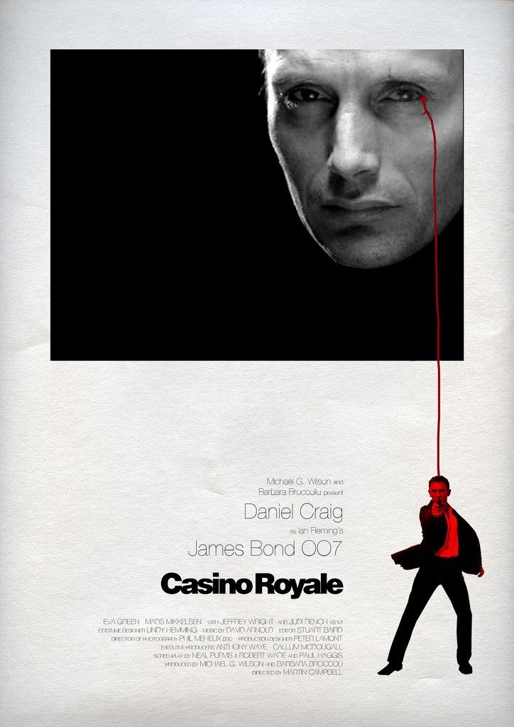 плакат Казино Рояль