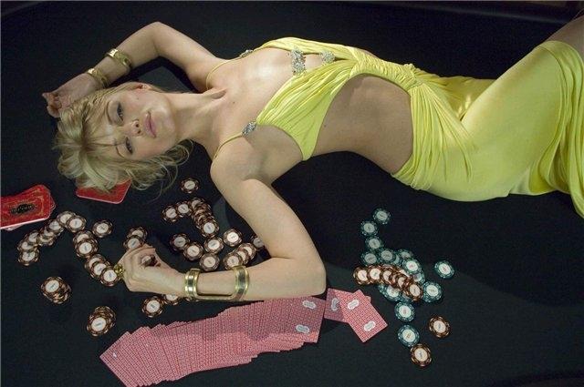 с подругой в казино