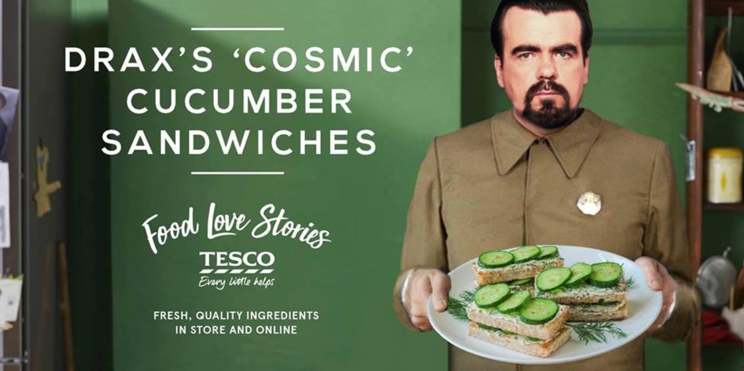 сэндвич с огурцом!