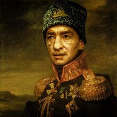 Портрет генерала Аркадия Орумова